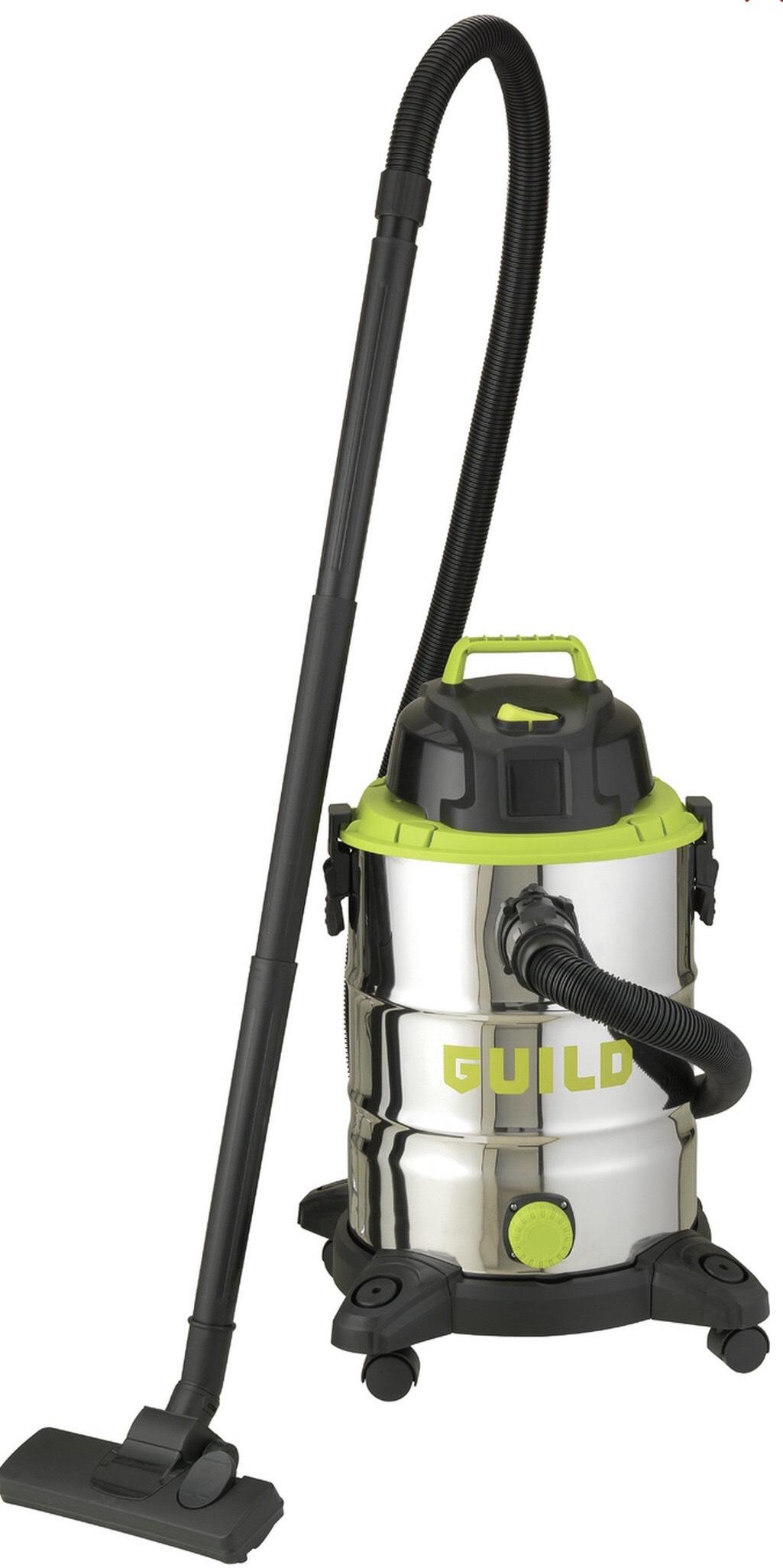 Guild 30L Steel Drum Wet and Dry Vacuum Cleaner - 1500W £44 @ Argos (Free C&C)