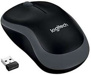 Logitech M185 Wireless Mouse USB for PC Windows/Mac/Linux, Grey Ambidextrous Design for £7.55 Student P/£8.39 Prime/+£4.49NP @ Amazon UK
