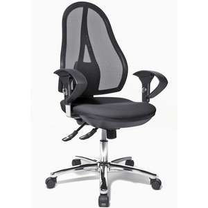 Staples Clearance Sale + Further 20% off with code e.g. TOPSTAR Open Point® Deluxe SY Mesh Operator Chair - £57.04