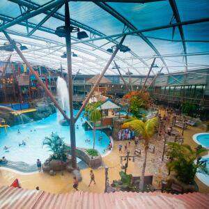 Stay at Alton Towers hotel or CBeebies Land hotel with breakfast + 1 day waterpark + 9 holes of crazy golf from £70 (£35pp) @ Alton Towers