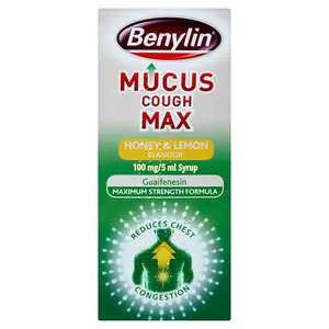 Benylin Mucus Max 300ml - 50p instore at Sainsbury's Kenton