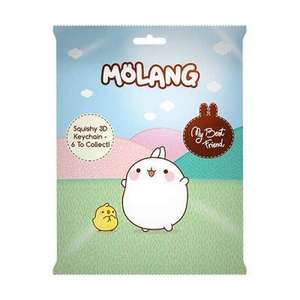 Molang Squishy 3D Keychain - 6 To Collect, £1 In Store (+ Some Other Toys In OP), In Store @ OneBelow, Union Street, Glasgow
