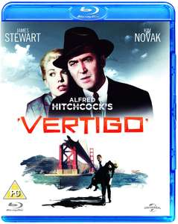Alfred Hitchcock's Vertigo Blu-ray @ Amazon £2.99 Prime / £4.98 non Prime