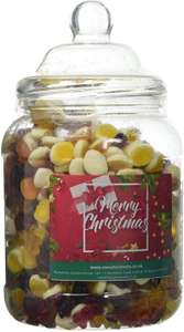Mr Tubbys Jelly Mix - Merry Christmas Red Label - Large Jar 1500g (Pack of 1)