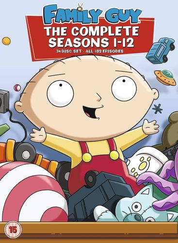 Family Guy: Seasons 1-12 DVD - Used £9.99 ebay  musicmagpie
