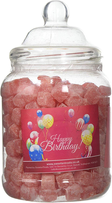 Mr Tubbys Kola Cubes - Happy Birthday Red Label - Large Jar 1800g(Pack of 1)