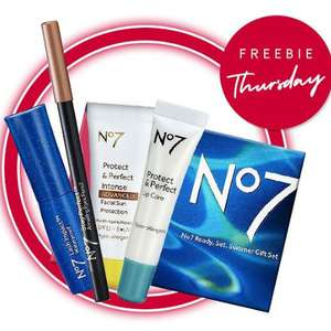 Free gift worth £29 when you spend £30 on No7  - stacks with 3 for 2, and more discounts @ Boots
