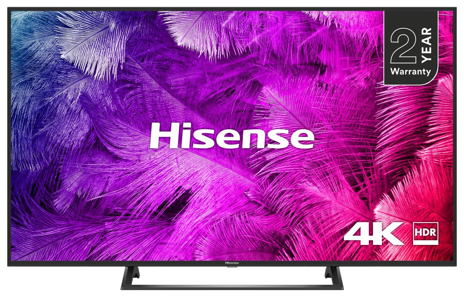 Hisense 50 Inch H50B7300UK Smart 4K HDR LED TV 2019 + 2 year warranty £349 @ Argos