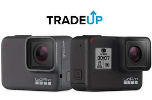 GoPro Hero 7 black inc 64GB SD £319 or £269 after £50 trade in. Hero 7 Silver inc £32GB SD £199 or £149 after trade in! @ GoPro