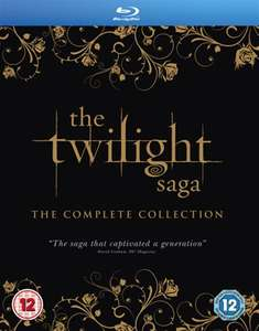 The Twilight Saga: The Complete Collection Blu-Ray Boxset £6 In-Store or £7.50 Delivered @ CEX (Pre-Owned)