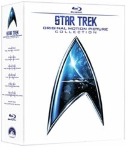 Star Trek - Original Motion Picture Collection 1-6 Blu-Ray Boxset £10.60 Delivered @ eBay /  thetradeinn