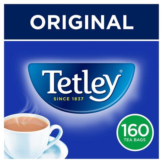 Tetley 160 tea bags £2 @ Tesco