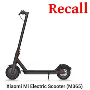 Xiaomi Have Recalled Approximately 10,000+ Electric Scooters