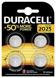 Duracell Specialty 2025 Lithium Coin Battery 3 V, (DL2025/CR2025) £1.99 Amazon add on item