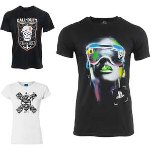 3 for £10 on selected T-Shirts + Free Delivery & Free Returns @ Geekstore