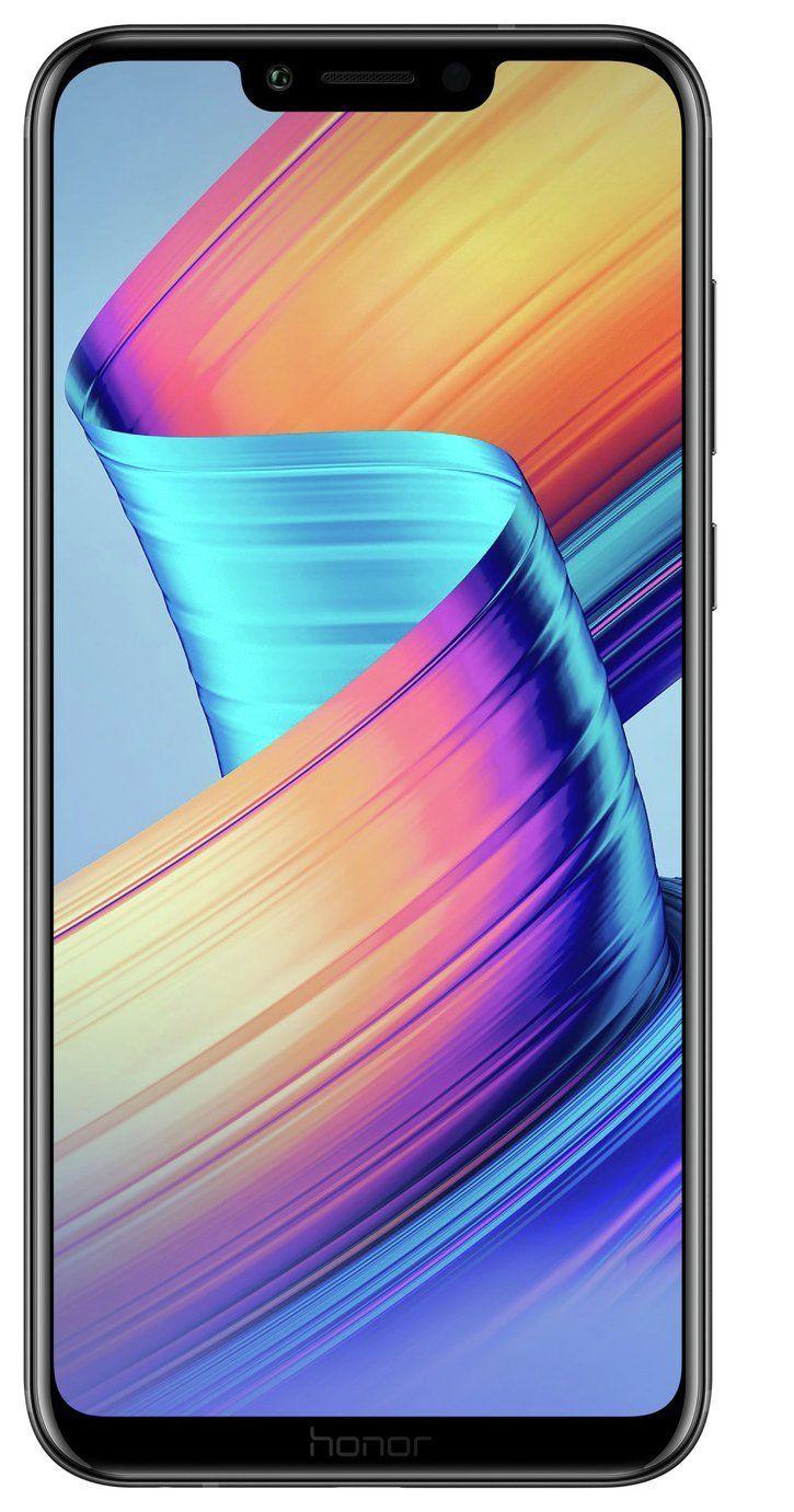 Refurbished SIM Free Honor Play 6.3 Inch 64GB 16MP 4G Mobile Phone - Black £129.99 @ Argos