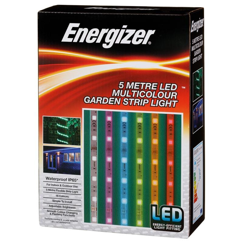 Energizer 5 meter led garden strip light £10 instore @ B&M Newham