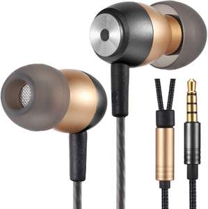 Betron GLD60 Noise Isolating in Ear Earphones Headphones £7.19 (Prime) £11.68 (Non Prime) @ Sold by Betron Limited and Fulfilled by Amazon.