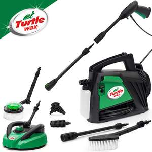 Amazon Lightning Deal for the Turtle Wax Pressure washer with a bunch of accessories - £89