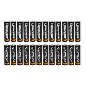 24 Pack batteries.  AA @ £5.79 and AAA @ £4.99 @ 7Dayshop