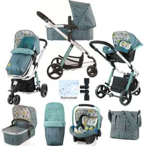 Cosatto Pushchair Travel System 3-in-1 and accessories - £349.95 @ Kiddies Kingdom