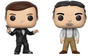 Funko Pop! Vinyl - Movies James Bond Two-Pack £6.98 delivered @ Groupon