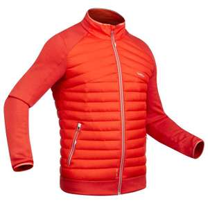 Wed'ze 900 Men's Down Skii Liner Jacket - Red at Decathlon for £19.99 (free C&C)
