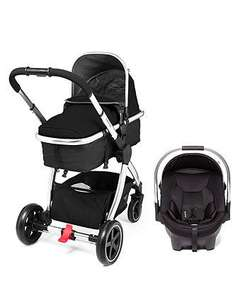 Mothercare 4-wheel journey chrome travel system £209 delivered @ Mothercare