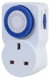PRO ELEC  PEL00408  24 Hour Mechanical Plug-in Timer - £1.87 (7 day plug-in £2.95) delivered @ CPC