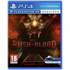 Until Dawn: Rush of Blood (PSVR/PS4) £9.99 Delivered @ Argos via eBay