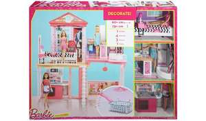 Complete Barbie Home Set with 3 Dolls and Pool £60 @ Argos