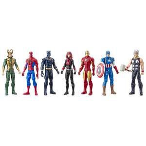 Marvel Avengers Titan Hero Series Action Figure Multipack 7 Figures. Free C&C or £2.95 Del - £35 @ George
