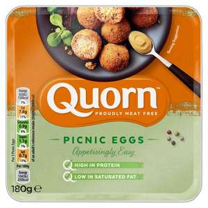 Quorn picnic Eggs 180g - 49p or 3 for £1 @ Heron Foods (Liverpool)