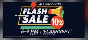 Flash Sale at Gamivo - 10% off all products using code FLASHSEPT