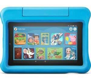 "AMAZON Fire 7"" Kids Edition Tablet (2019) - 16 GB, Blue - Currys for £49.97 Delivered @ Currys/Ebay"