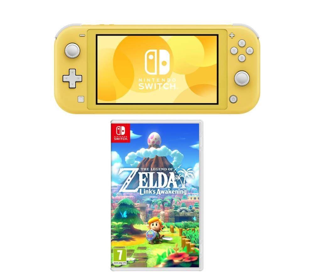 Nintendo Switch Lite & The Legend of Zelda: Link's Awakening Bundle - (Various colours) £199 @ Currys