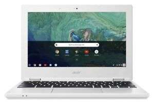 Acer Chromebook 11.6 Inch HD Intel Celeron OS 1.6GHz 2GB 16GB Laptop - White Refurbished £67.99 @ Argos Ebay