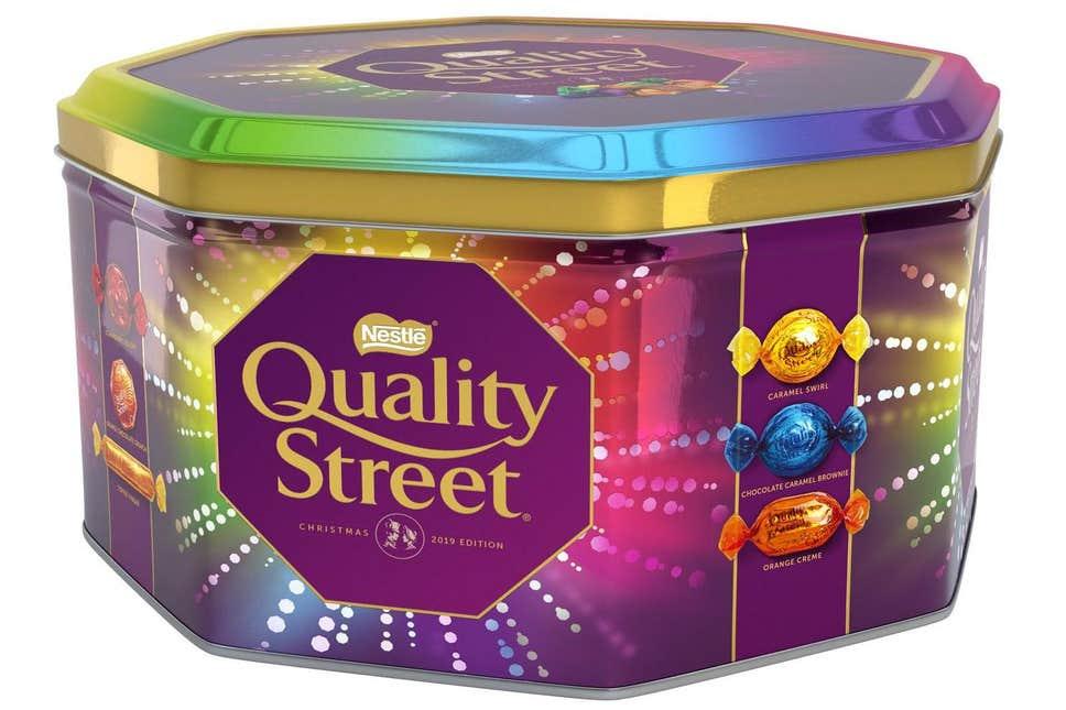 Nestle Quality Street Tin 2kg £11.62 instore @ Costco