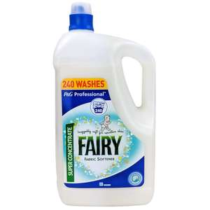 Fairy Fabric Softener Super Concentrate (2 x 4.8 Litres) for £12 at Costco (in store)