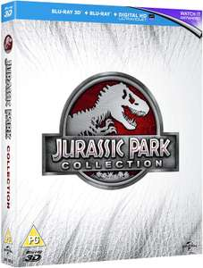 Jurassic Park Trilogy + Jurassic Park 3D blu-ray boxset £8.99 + £2.99 delivery Non Prime @ Venture Online and Fulfilled by Amazon.