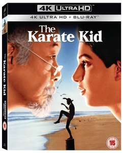 The Karate Kid 4K Ultra HD + Blu-ray (35th Anniversary) £8.99 delivered with code @ Zoom