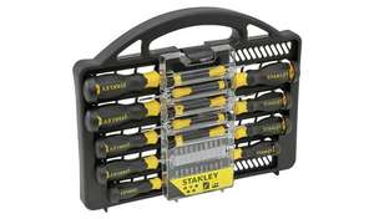 Argos-Stanley 34 Piece Screwdriver Set With Case £15 @ Argos