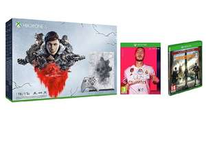 Various Amazon Xbox One FIFA 20 bundles inc. Xbox One X Gears 5 Limited Edition (1TB) + FIFA 20 + The Division 2 - £399.99