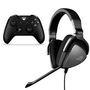 ASUS ROG Delta Core Wired PC/Console Gaming Headset + Free Xbox One Controller £89.99 @ Scan (£5.48 Delivery / Free c&c)