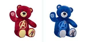 Disney Marvel Bears half price Iron man, Captain America, Black Panther £10.75 in store & online @ Build a Bear