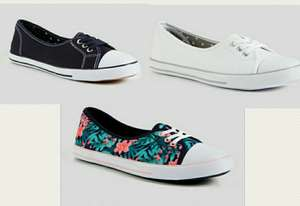 Navy Low Lace Pump, Multicoloured Lace Pump, White Lace Pump Now £3 @ Argos by Tu (Free Click & Collect)