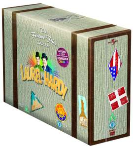 Laurel & Hardy Films Deluxe Suitcase DVD Edition £12.99 @ Zoom