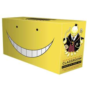 Assassination Classroom Complete Box Set: Includes Volumes 1-21- Exclusive Poster / Mini Art Book - £66.59 Delivered  with code @ Books2Door