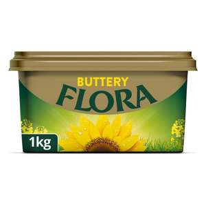 Flora Buttery Spread 1kg - £2 at Asda