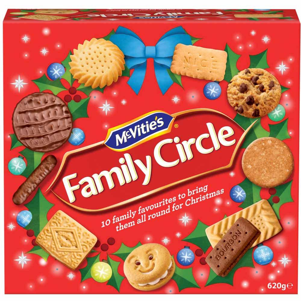 McVitie's Family Circle 620g £2 @ Wilkos instore or £2 C&C